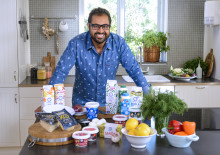 Sveriges mästerkock Amir samarbetar med Skånemejerier