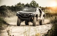 Tohjulstræk og 800 Nm i Peugeots Dakar racer