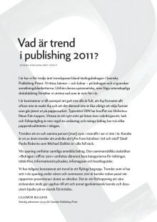 Svenska Publishing-Året 2010/11