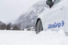 Goodyears UltraGrip 9 høster anerkendelse i nye vintertest