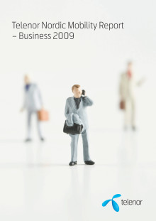 Telenor Nordic Mobility Report - Business 2009