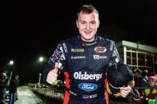 Unga stjärnskott visade vägen i RallyX On Ice på travet
