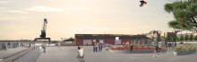 Kajyta blir attraktiv mötesplats, Södra Hamnplan Luleå