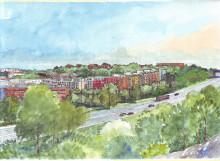 Skanska bygger hyreshus och studentlägenheter åt Stockholmshem för 450 miljoner kronor