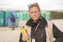 Röda Korset varnar för försämrad hälsa hos människor på flykt