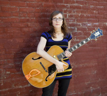 Mary Halvorson - framtidens jazzgitarrist