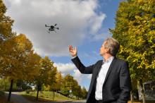 Schneider Electric först i Sverige med att lansera flygande övervakningskameror