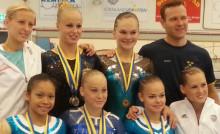 Sverige skickar starkt lag till VM i kvinnlig artistisk gymnastik i oktober (uppdaterat 28 aug -14)