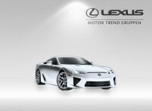 En webbplats som andas Lexus