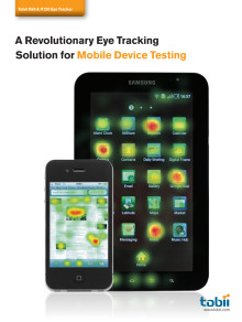 Tobii Mobile Device Testing Solution Brochure