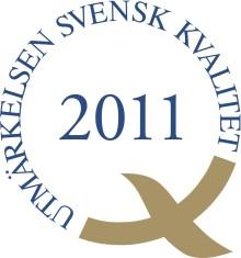 Vård och förskola vinnare av Utmärkelsen Svensk Kvalitet!