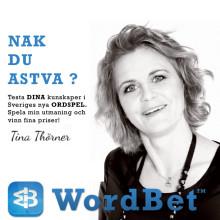 WordBet i nytt samarbete med Tina Thörner