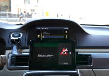 Storskaligt testevent i verklig trafikmiljö av EU-projektet DRIVE C2X