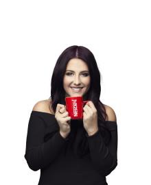 Kaffe påverkar Molly Sandéns sångröst