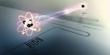Chalmersforskare förlänger livstiden hos atomer med hjälp av en spegel