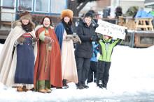 Sigtuna bjuder på isfest under Vikingarännet