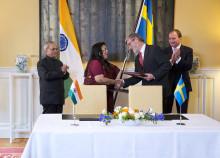 Sverige och Indien samarbetar i polarområdena