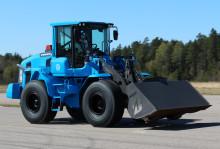 Swecon slog hastighetsrekord med prestandakonceptet och hjullastaren Volvo L60G PCP