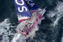 Prova på segling under Volvo Ocean Race