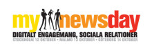 Mynewsday 2011- streamer live fra vårt newsroom