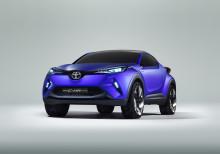 Toyota visar crossoverkoncept och bränslecellsbil i Paris