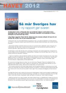 Pressmeddelande Havet 2012 i pdf-format
