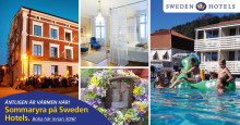 Sommaryra på Sweden Hotels. Boka hotellrum för 595 kr!