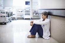 Psykiatripersonal upplever brist på stöd