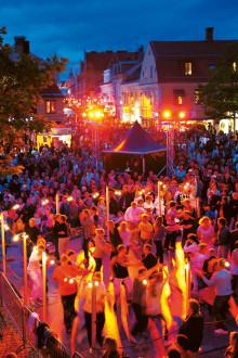 Rekordmånga evenemang i Kalmar i sommar!