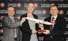 Danska tennisstjärnan Caroline Wozniacki ny ambassadör för Turkish Airlines