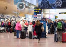 Stark tillväxt av flygresenärer