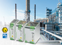 Coated power supply units for Ex applications