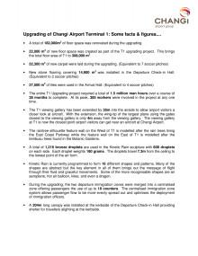 Terminal 1 Factsheet