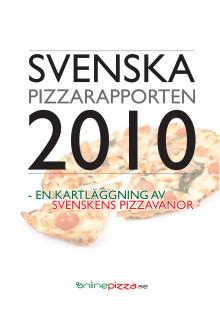 Svenska Pizzarapporten 2010