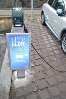 Premiär för elhyrbilar på Statoil