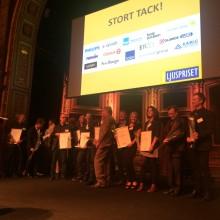 Två projekt delar på prestigefyllda Svenska Ljuspriset