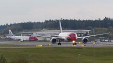 Norwegian med god passagerartillväxt i september