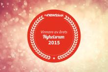 Vinnare i Årets Nyhetsrum 2015