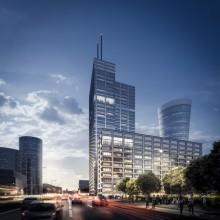 Skanska investerar cirka 510 miljoner kronor i första etappen av kontorsprojekt i Warszawa, Polen
