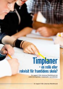 Timplaner - en relik eller rekvisit för framtidens skola?