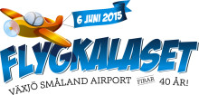 Pressträff inför Flygkalaset på Växjö Småland Airport - Svetlana Kapanina & Jet Pack Man