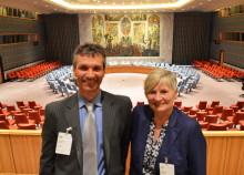 Lærere fra Kristiansand på studietur til FN i New York