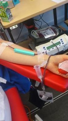 Var femte ger blod trots obehag inför nålstick