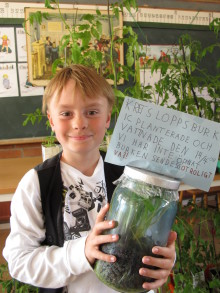 Sveriges skolor engagerar sig i Earth Hour