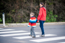 Skolstarten kritisk för barn i trafik