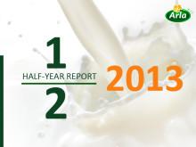 Arla Foodsin puolivuotiskatsaus: Strategia parantaa tulosta