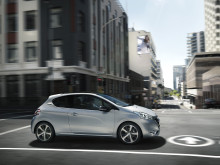 Peugeot 208 har opnået 5 stjerner i Euro NCAP´s test