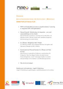 Program för konferens den 23 maj