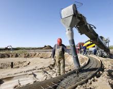 GrønGas Vrå - Nordjyllands største biogasanlæg tager form