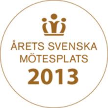 Vår Gård Saltsjöbaden blev Årets Svenska Mötesplats 2013 – Grattis igen!